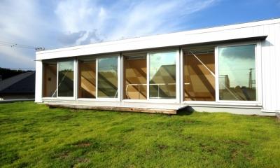 おゆみ野の家 (芝屋根)