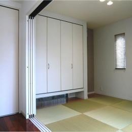 オール電化住宅:東京都国分寺市Y様邸 (タタミルーム)