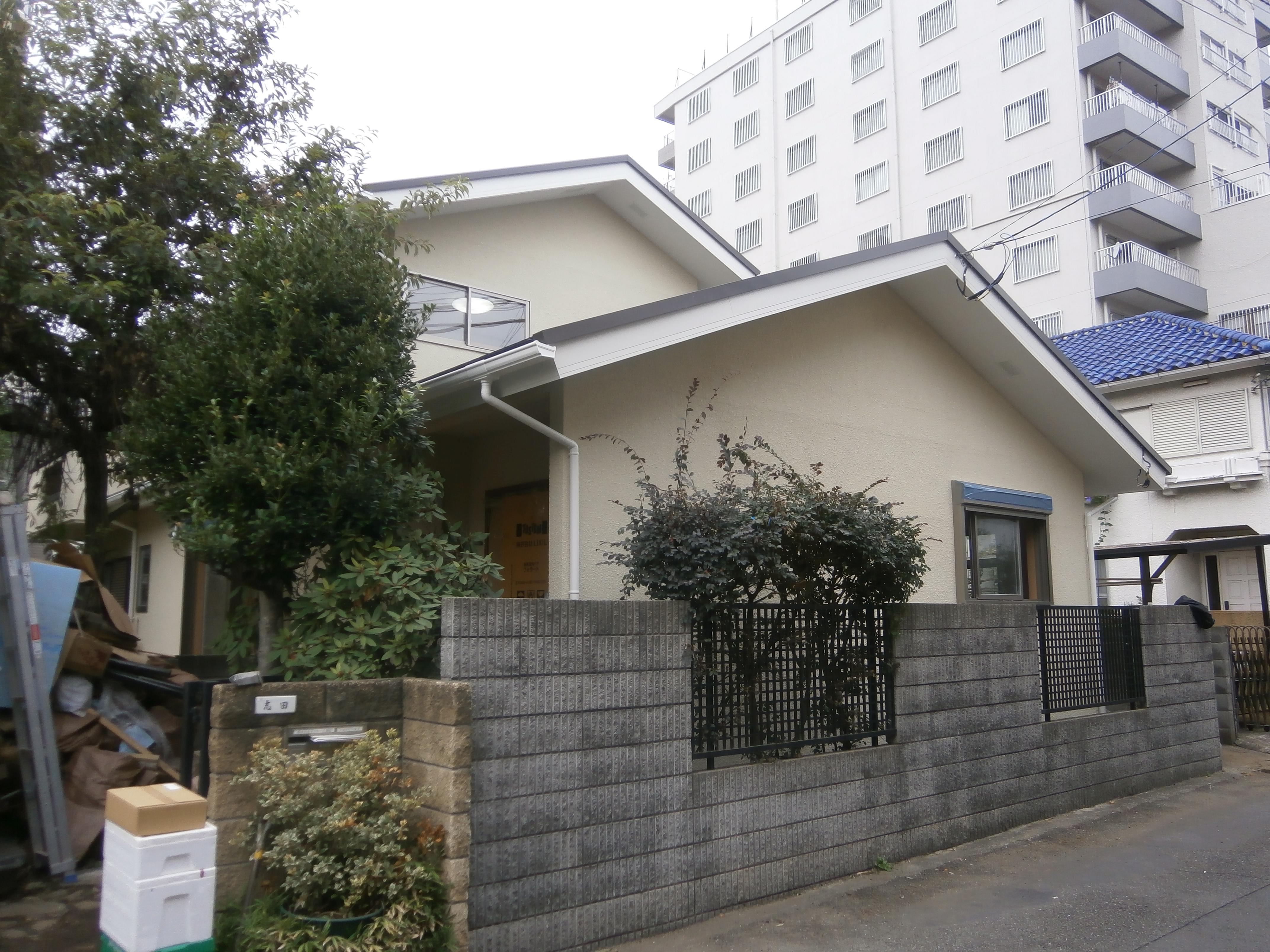 耐震補強で二世帯住宅の全面リフォーム:東京都小金井市T様邸の写真 外観