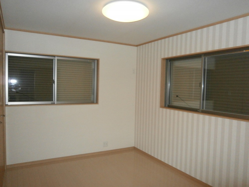 耐震補強で二世帯住宅の全面リフォーム:東京都小金井市T様邸 (2階の部屋)