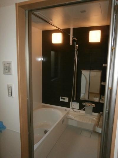 耐震補強で二世帯住宅の全面リフォーム:東京都小金井市T様邸 (バスルーム)