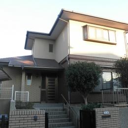 耐震補強で全面リフォーム、高気密高断熱の家へ:千葉県千葉市I様 (外観)