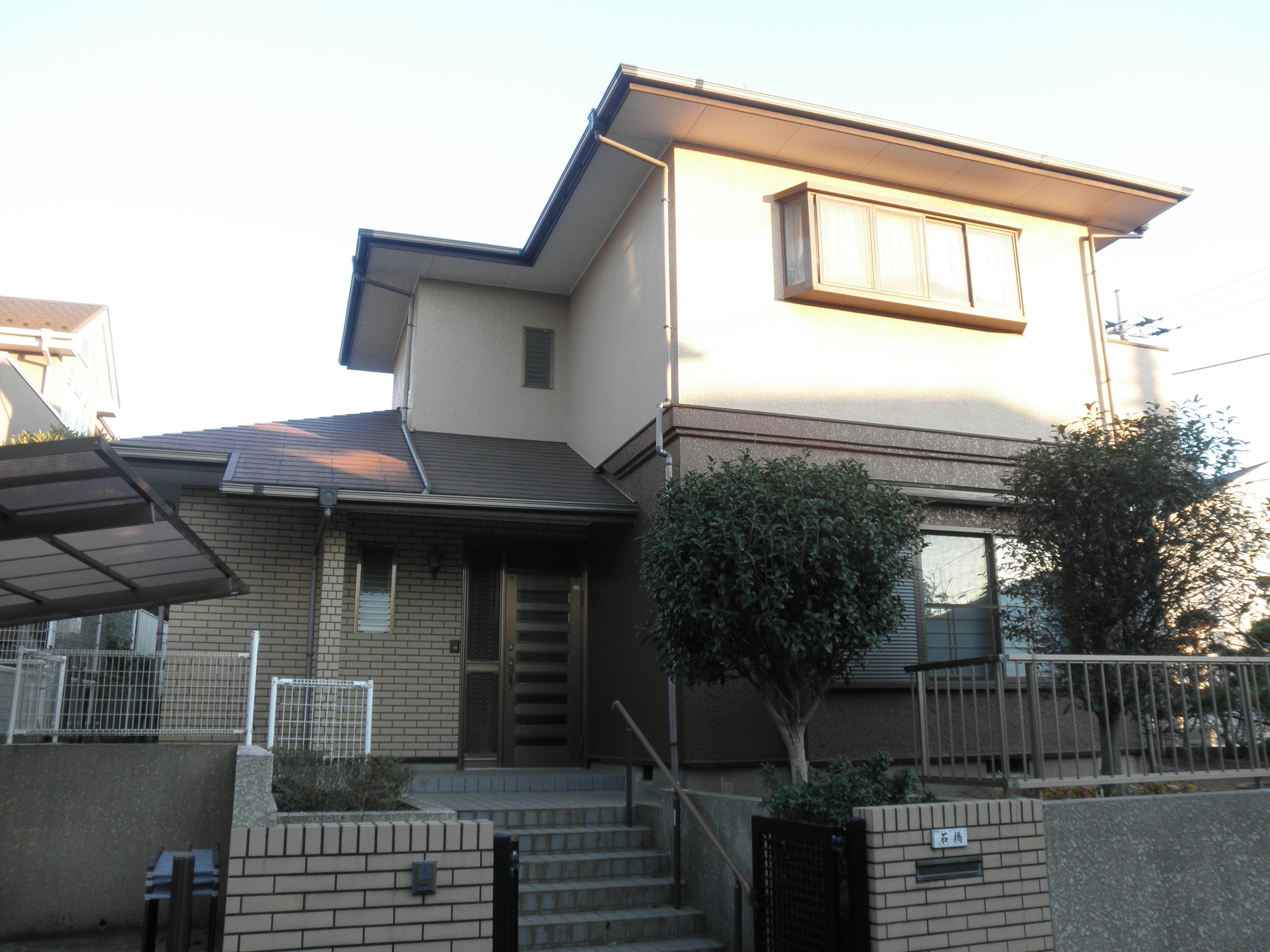 耐震補強で全面リフォーム、高気密高断熱の家へ:千葉県千葉市I様の写真 外観