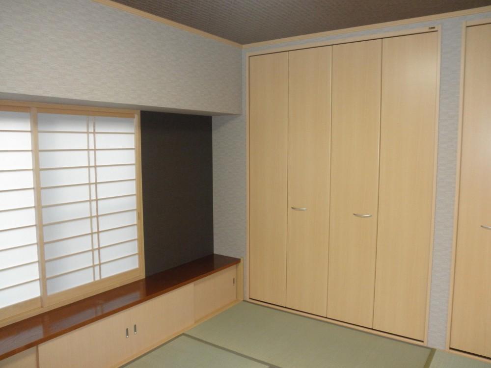 耐震補強で全面リフォーム、高気密高断熱の家へ:千葉県千葉市I様 (和室)
