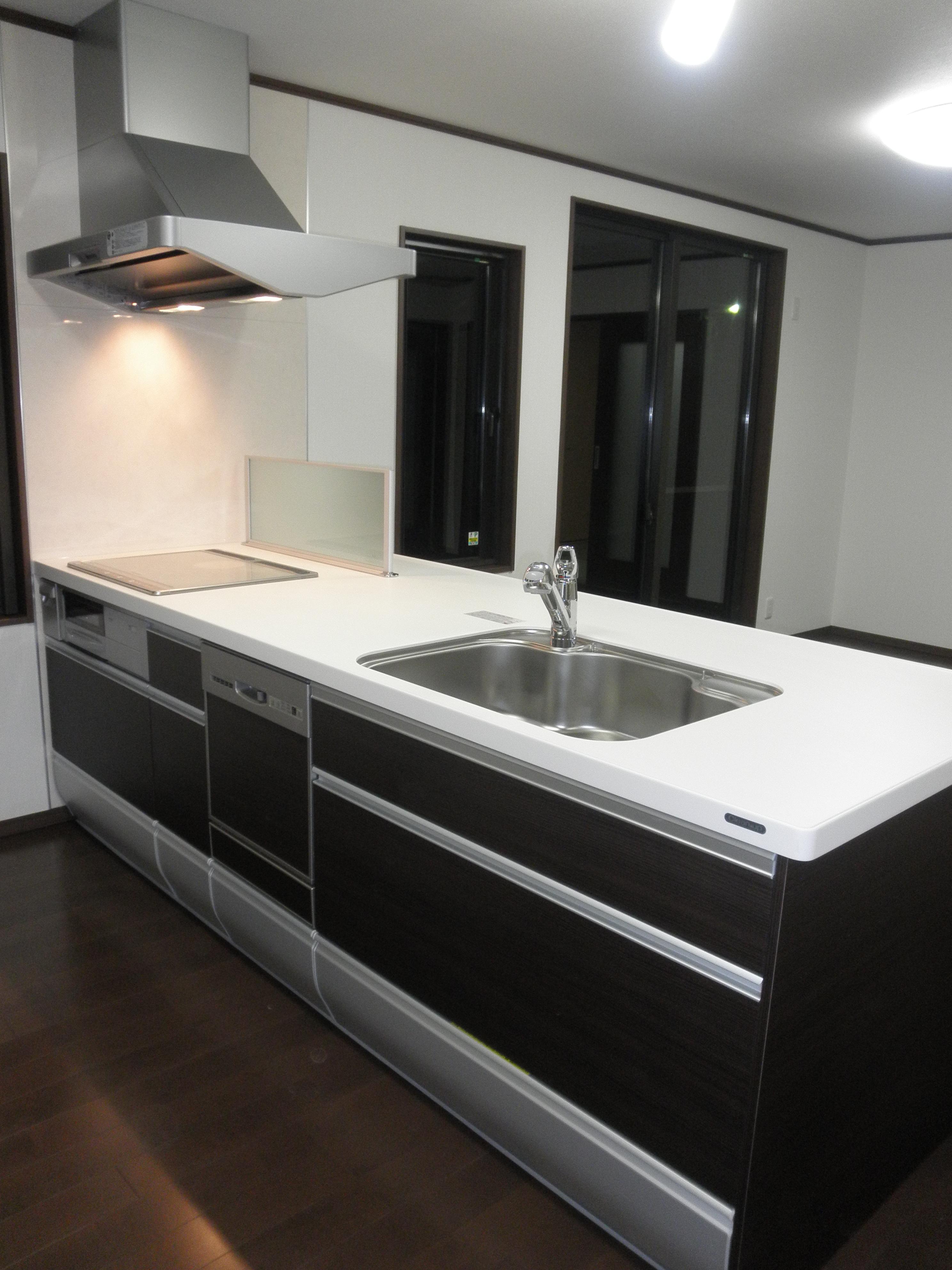 耐震補強で全面リフォーム、高気密高断熱の家へ:千葉県千葉市I様の写真 アイランドキッチン
