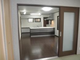 耐震補強で全面リフォーム、高気密高断熱の家へ:千葉県千葉市I様 (リビングダイニング)