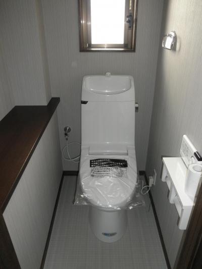 耐震補強で全面リフォーム、高気密高断熱の家へ:千葉県千葉市I様 (トイレ)