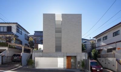 坪庭の家 (外観)