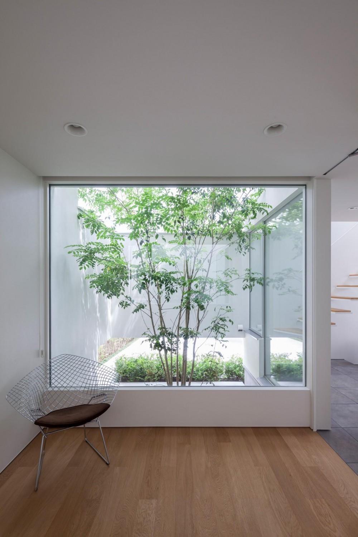 GEN INOUE「立体市松壁の家」