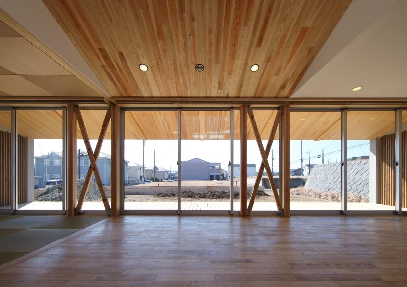 建築家:飯沼 竹一「ちはら台の家」