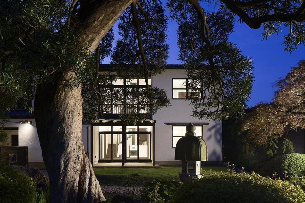 箱根板橋S邸-高台に建つヴォーリズ建築へのオマージュ- (外観正面)