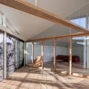軽井沢の別荘の写真 インナーテラス