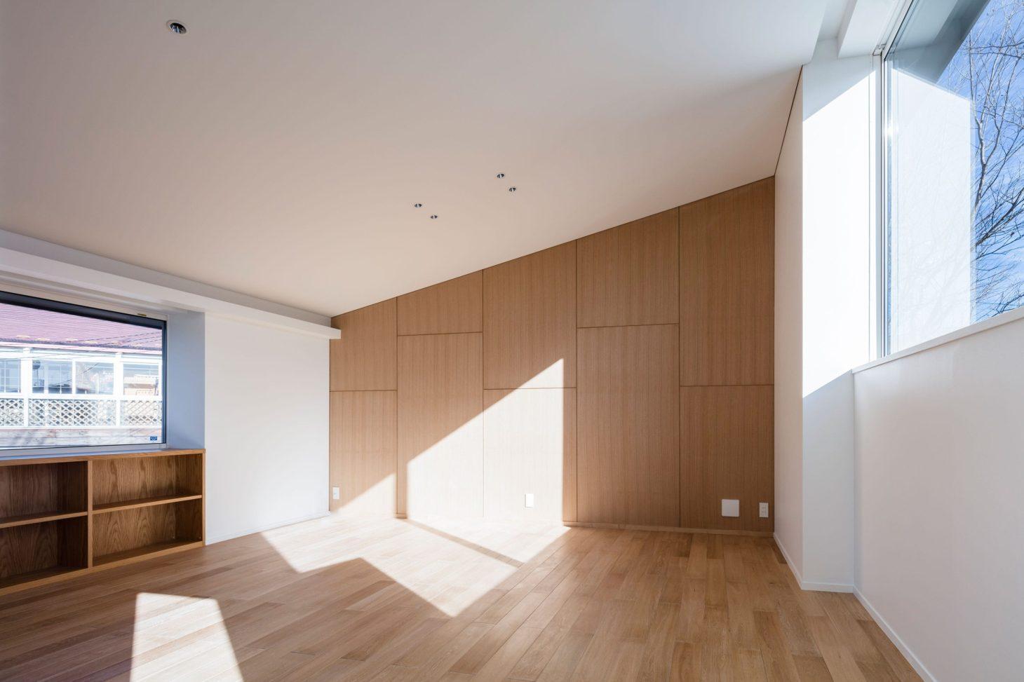 軽井沢の別荘の写真 ベッドルーム