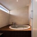軽井沢の別荘の写真 バスルーム