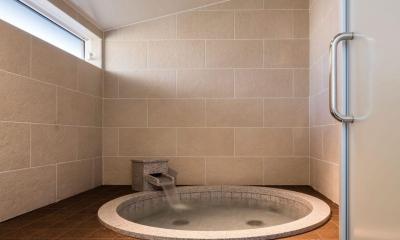 バスルーム|軽井沢の別荘