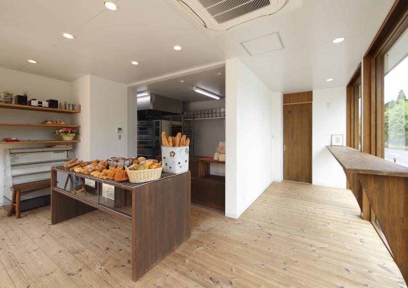 季美の森のパン屋さんの部屋 店舗部-2