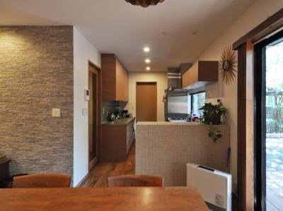 キッチン (世代交代した井草の家)