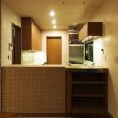 キッチン(仕切りを閉じた状態)