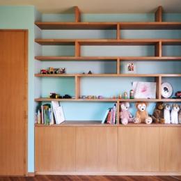 世代交代した井草の家 (子供部屋)