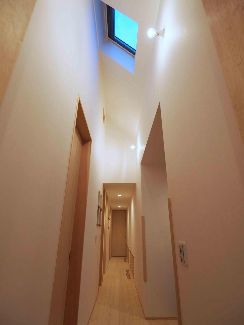 くの字の平屋 (廊下)