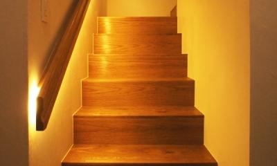 世代交代した井草の家 (階段室)