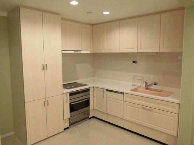 S様邸の写真 L型キッチン
