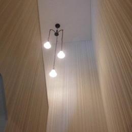 S様邸 (天井の高い階段)