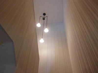 天井の高い階段 (S様邸)