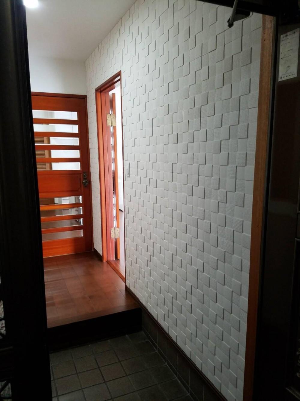 O様邸 (玄関)
