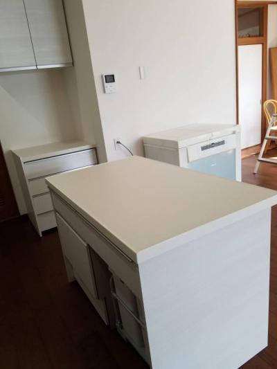キッチン作業台 (O様邸)