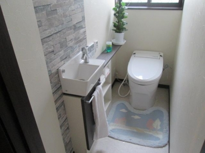 トイレ (K様邸)