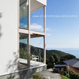建築家 鈴木宏幸の事例「028熱海伊豆山Yさんの家」