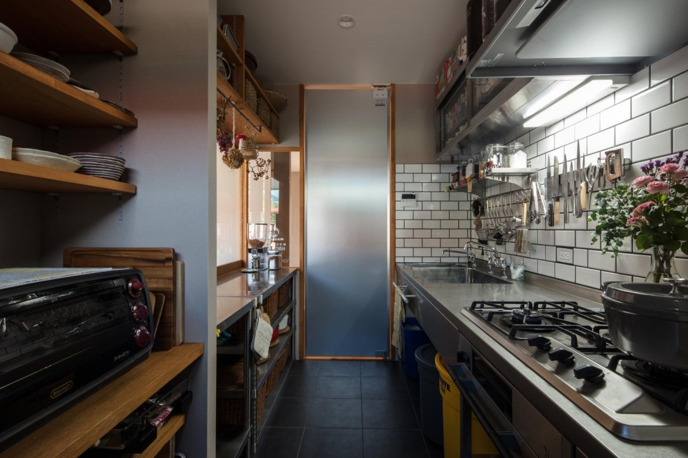 個性を体現した家 (キッチン)