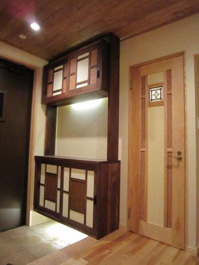 和の安らぎをキレイな空気質で健康に (玄関とトイレ)