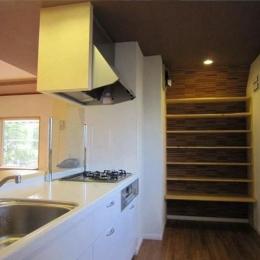 キッチン (自然素材でアトピー・アレルギーの無い家を)