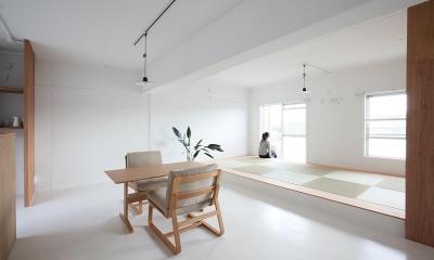 茶山台団地ニコイチ改修 RCタイプ (畳スペース)