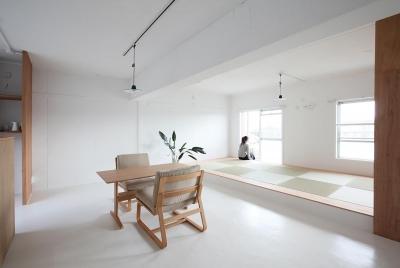 畳スペース (茶山台団地ニコイチ改修 RCタイプ)