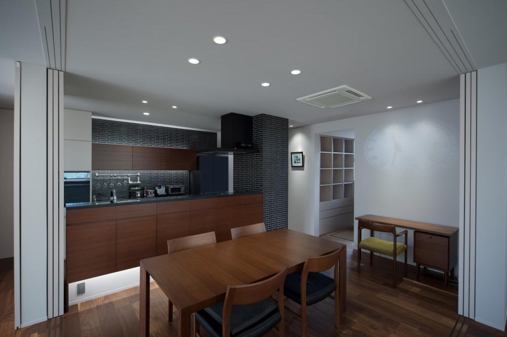 竈山の家Ⅱ (キッチン・ダイニング)