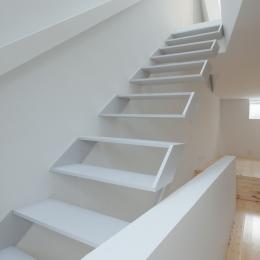 玉津の住宅 / House in Tamatsu (2〜3階階段2)