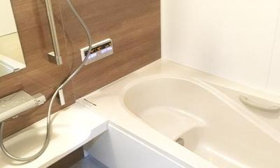 明るく開放的なLDK (バスルーム)