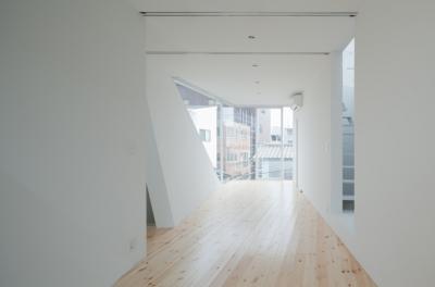3階子供室(北より南を見る) (玉津の住宅 / House in Tamatsu)