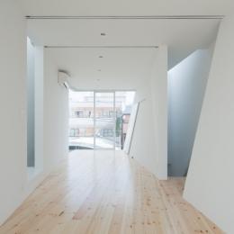 玉津の住宅 / House in Tamatsu (3階子供室(南より北を見る))