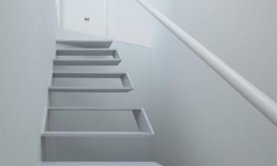 玉津の住宅 / House in Tamatsu (3階〜屋上階段)