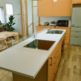 キッチン (船橋の家―2世帯リフォーム)