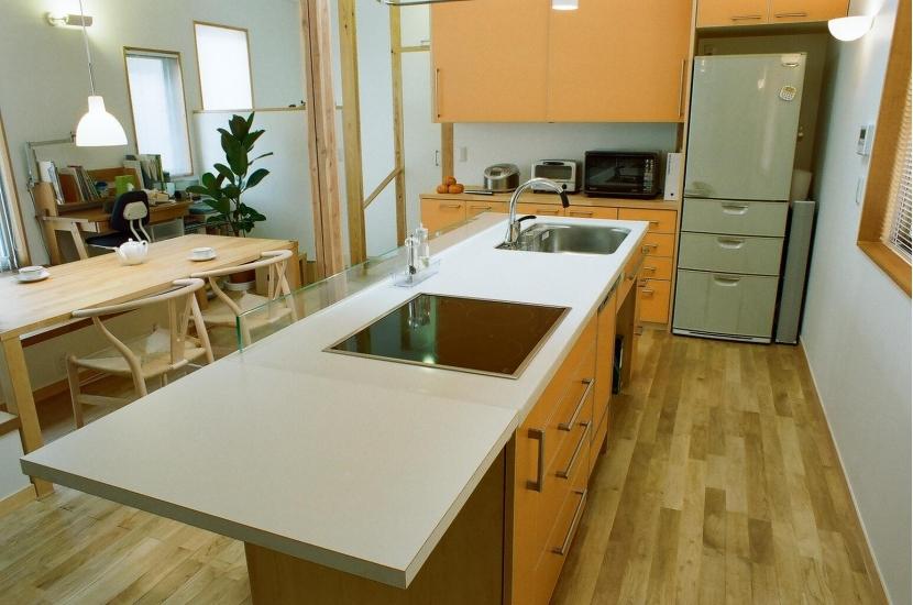 船橋の家―2世帯リフォーム (キッチン)