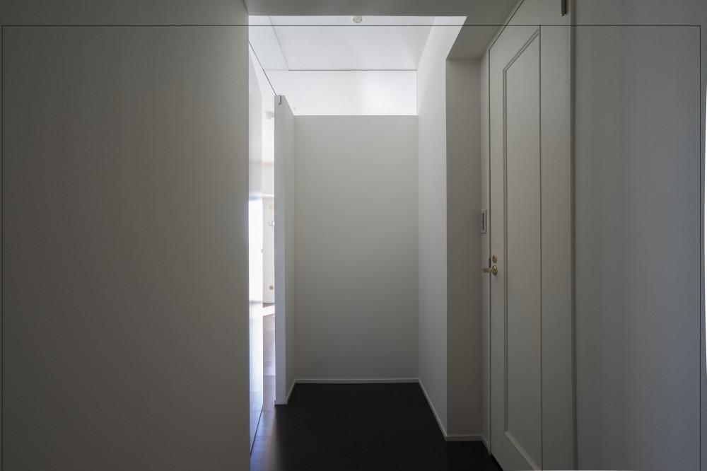 日吉のマンションリノベーション (玄関)