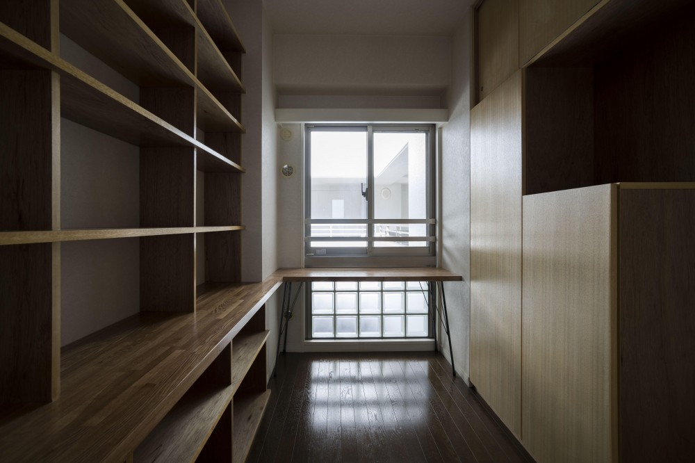 日吉のマンションリノベーション (書斎)