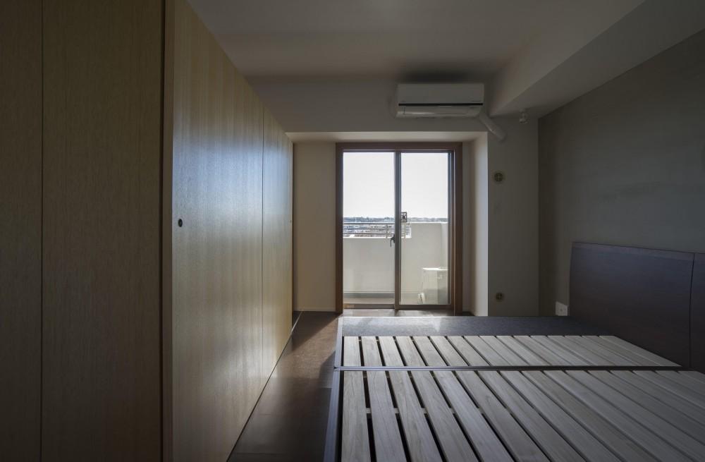 日吉のマンションリノベーション (ベッドルーム)