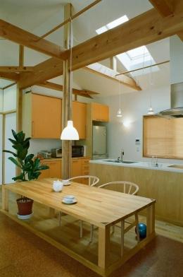 船橋の家―2世帯リフォーム (ダイニングルーム)