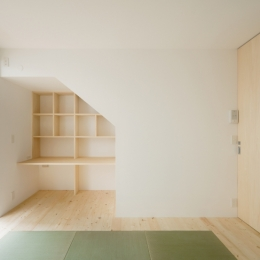 House F (1階寝室)